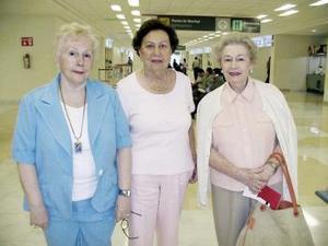 <b>16 de abril</b><p> Mercedes Díaz, Dolores Díaz y Pilar Díaz viajaron a Culiacán Sinaloa.