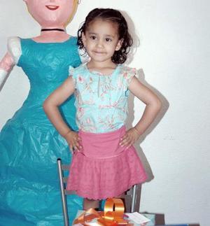<b>16 de abril </b> <p> Sofía Espinoza Carrillo cumplió cuatro años de vida y lo celebró con una fiesta.