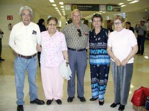 Guadalupe Rodríguez, Antonia Ríos, Fortino y Refugio Amancio viajaron a Tijuana.