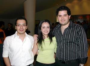 Joselo Orozco, Heidi Ruiz y Rodolfo Quezada.