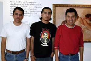 Juan Franco y Salvador Díaz.