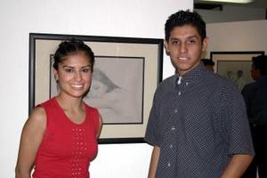 Nazabel Bernal y Marco Antonio García.