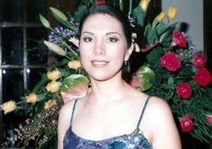 17 de abril  Liliana Cepeda Ramírez captada en su primera despedida de soltera.