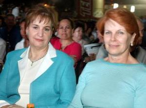 Isabel de Román y Ana María de Rosas.