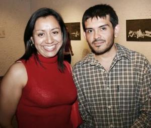 Jazmín Martínez y Adrián Domínguez.