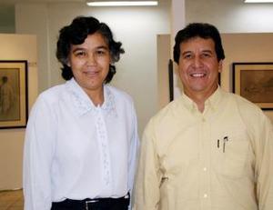 Rosa Ma. Franco y Jesús Lozano.