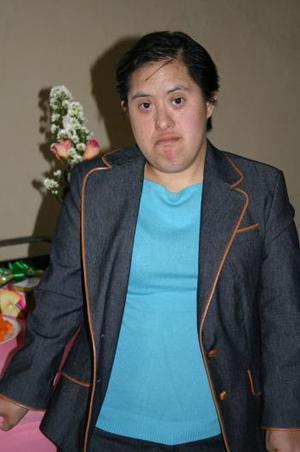 Lupita Cruz Orozco el día de su cumpleaños.