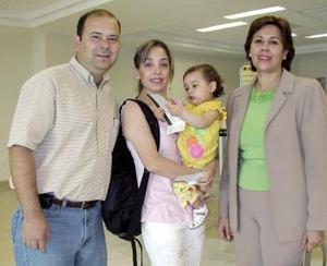 Juan Carlos Menéndez, Ana Cristina Mennéndez, Esperanza de Aranda y María José Menéndez
