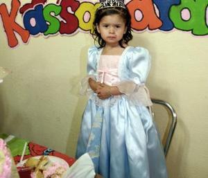 Kassandra Rodríguez López el día de su fiesta de cumpleaños.