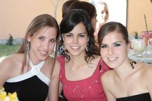 Alejandra Celaya, Berenice Cepeda y Susana Garza.