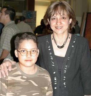 Adela de Romero y Leonardo  Romero.