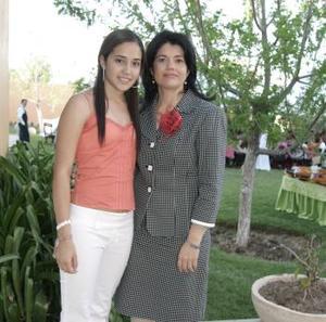 Mariana Díaz de León y Lolo de Cepeda.