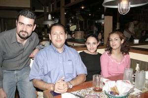 José Ernesto Rodríguez, Andrés Hernández, Lucero Vázquez y Berenice Rodríguez.