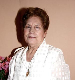 Socorro Ortega de Ríos fue festejada con un ameno convivio por sus hijos, con motivo de su cumpleaños hace unos días.
