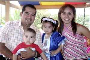 Elisa Sofía Esquivel Correa, captada en el convivio infantil que le organizaron sus papás, Juan Francisco Esquivel y Sandra Cecilia Correa.