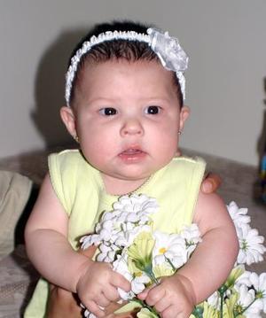 La pequeña Sofía Carolina Domínguez Rangel, captada en reciente acontecimiento social.