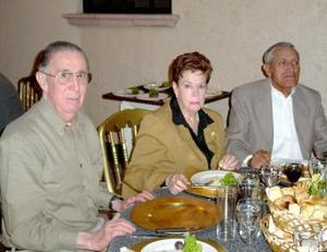 Francisco Madero, María Luisa Madero y Arturo Pedroza.