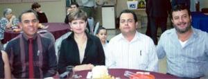 Felipe Vázquez, Silvia Maravilla Franco, Edel Arenas y Arturo  Vega.