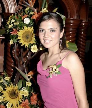 Ana Laura Cabral de Ávila, captada en la despedida de soltera que le organizaron