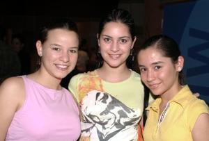 Mariana González, Marisol Papadópulos y Nancy de la Garza