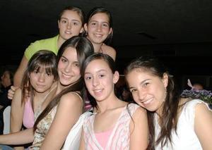 Daniela Sesma, Laura Córdoba, Brenda Humphrey, Isa Soto, Paulina Teele y Yola Murra