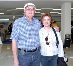 Ángel Alfonso Silveyra y Norma de Román de Silveyra viajaron a Cancún