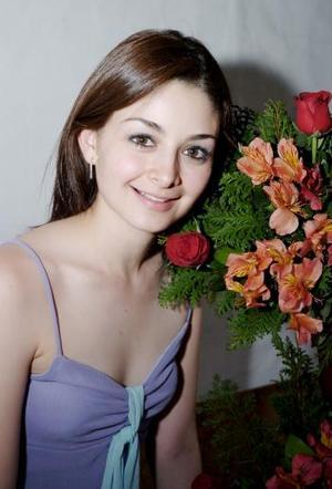 Diana Maricela Daher Pámanes en su despedida de soltera.