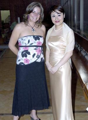 Kathrine Lagace y Ryo Fujimoto