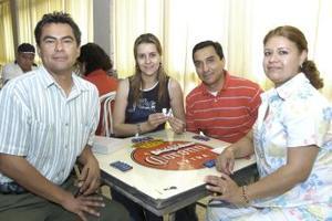 Gerardo Cabral, Nora Porras, Fernando Morales y Lupita Rivera.