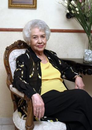 Rosy Soto de Palafox festejó su cumpleaños en compañía de familiares