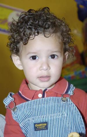 <b>29 de abril </b> <p> José Emiliano Boone Macías cumplió dos años de vida.