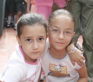 Andrea Martínez y Ángela Aranda