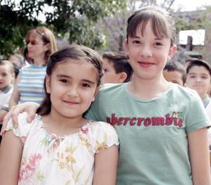 Daniela Torres y Natalia Ávalos