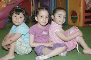 Ana Sofía Ortega, Isabella Gibert y Tamara Yassín