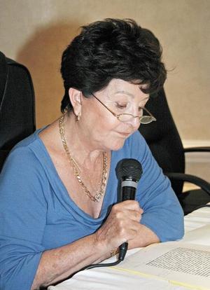 <I>La UAL presenta libro</I><P>Adela Celorio