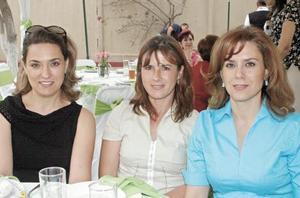 Margarita P. de Gamboa, Leticia P. de Anduaga y Leticia P. de Monárrez