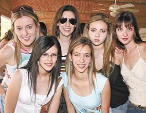 Laura Sánchez Von Bertrab, Ana Laura Muñoz, Yunue Acuña, Adriana Montañés,
