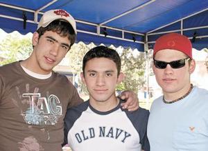 Alejandro Aguilar, Chuy Femmat y Zaid Shaman