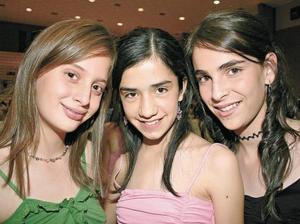 Ana Raigosa, Jessica Revueltas y Marian Díaz