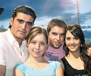 Fernando Ramos, Malena Papadópulos, Roberto Tueme y Paulina Giacomán
