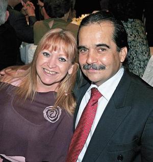 Susana Martínez de del Bosque y César del Bosque