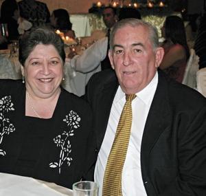 Tules Martínez de Sada y Rogelio Sada