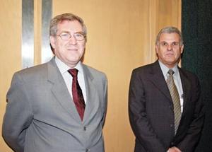 Gabriel de León y Rolando González