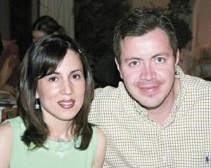 Bety Gómez y Gabriel Calvillo