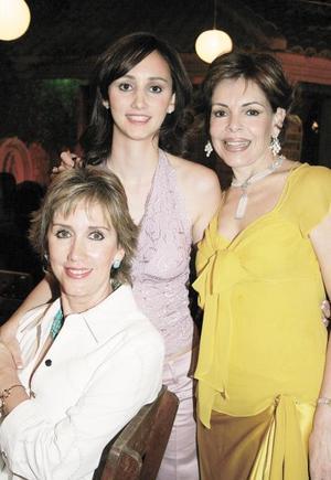 Ángela Gómez de Aguilar, Ángela María Aguilar Gómez y María Teresa Quintero de Cantú
