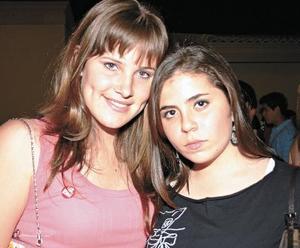 Karen Von Bertrab y Lety Sofía Gómez