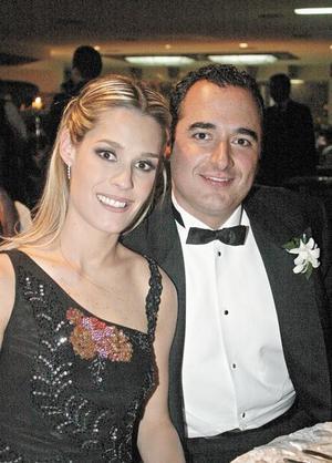 Astrid Alatorre de Arena y Guillermo Arena