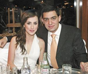 Nancy Perrella y Nessim Issa