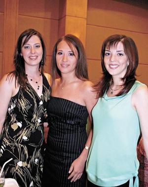 Nidia Chapa, Maricarmen Chávez y Verónica Santos