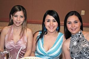 Alejandra Álvarez Garza, Elisa Esparza Aguirre y Fernanda Álvarez Zorrilla